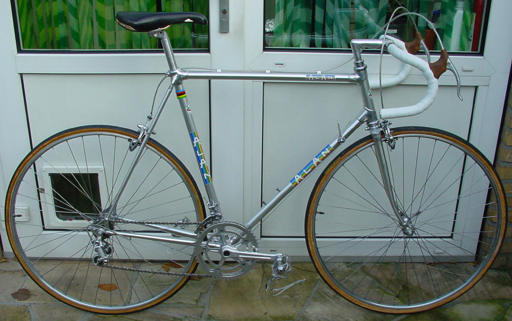 Alan Bike Made In Italy Rens Sander s Super Record