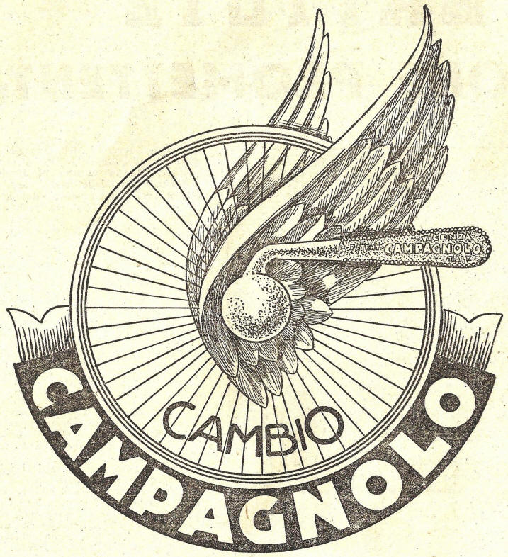Campagnolo logo with wings